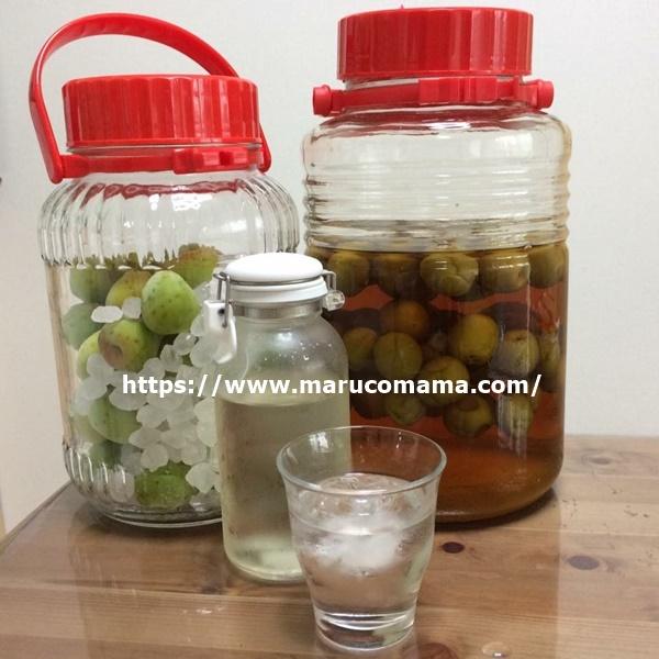 梅ジュースと梅酒の作り方!意外と簡単です!