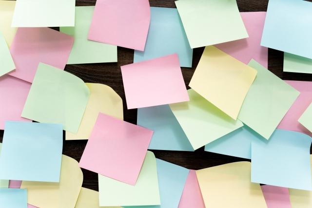 付箋を使って未来のビジョンを描く!書く事でより望む未来が鮮明に!